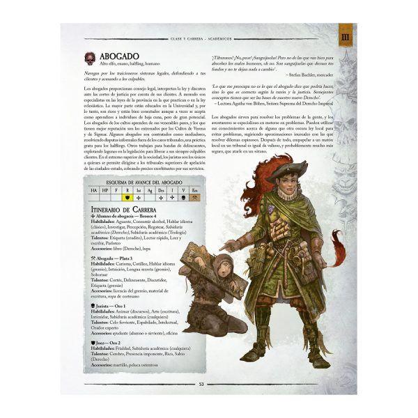 Warhammer El Juego de Rol de Fantasía
