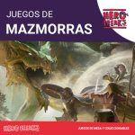Categorias Juegos Mazmorras