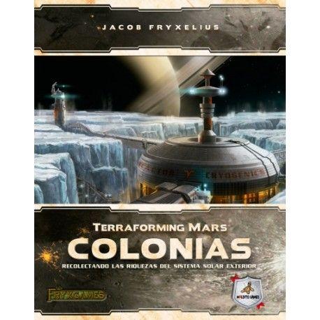 Terraforming Mars Colonias