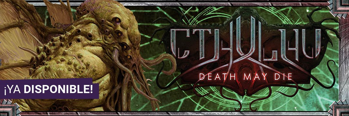 Cthulhu Death May Die Banner