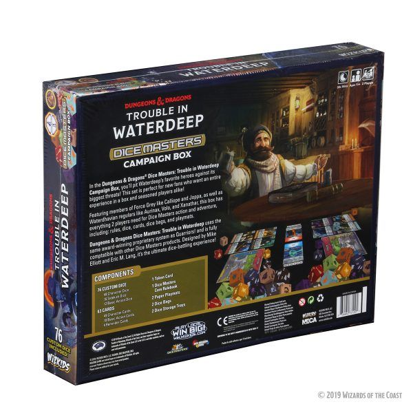 Dice Masters D&D - Trouble in Waterdeep - Campaign Box 3
