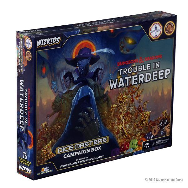 Dice Masters D&D - Trouble in Waterdeep - Campaign Box