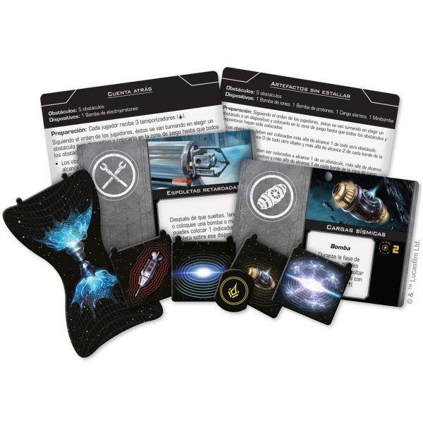 Star Wars X-Wing Segunda Edición Arsenal Completo