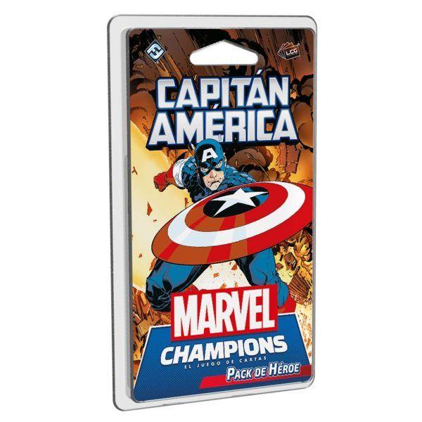 Marvel Champions: Pack de Héroe - Capitán América