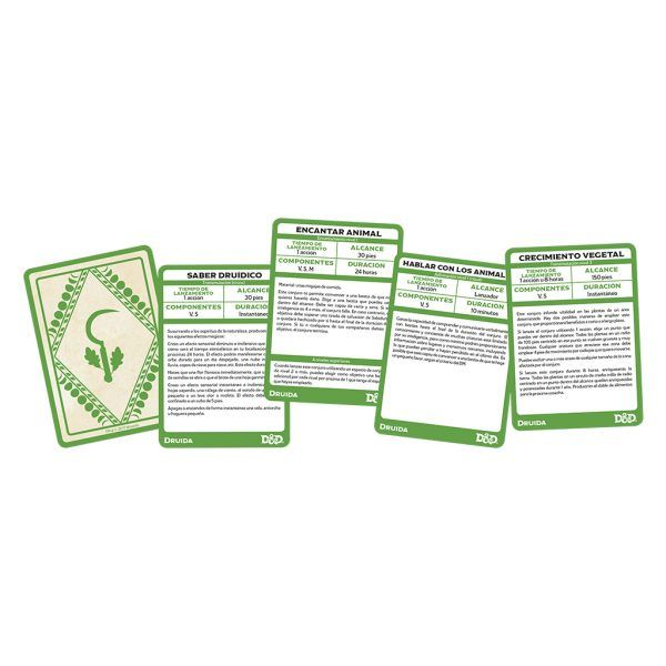D&D Cartas de Conjuros - Druida