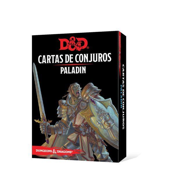 D&D Cartas de Conjuros - Paladin