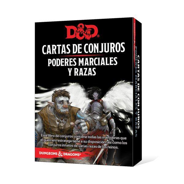 D&D Cartas de Conjuros - Poderes Marciales y Razas