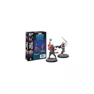 Marvel Crisis Protocol - Thor & Valkyrie