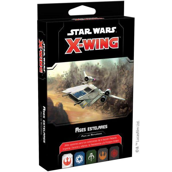 Star Wars X-Wing Segunda Edición Ases Estelares