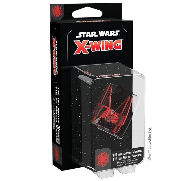 Star Wars X-Wing Segunda Edición TIE del Mayor Vonreg