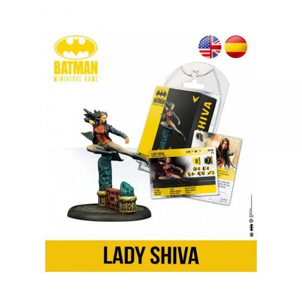 Batman Miniature Game Back To Gotham - Lady Shiva