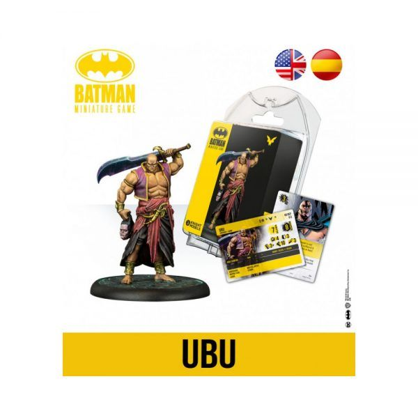 Batman Miniature Game Back To Gotham - Ubu 2