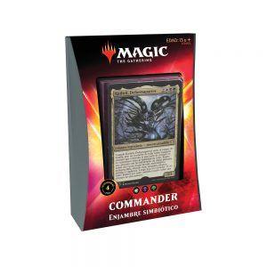 MTG Ikoria Mundo de Behemots - Commander - Enjambre Simbiótico