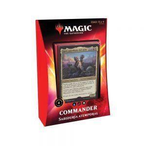 MTG Ikoria Mundo de Behemots - Commander - Sabiduria Atemporal