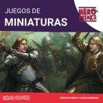 Categorias Juegos de Miniaturas