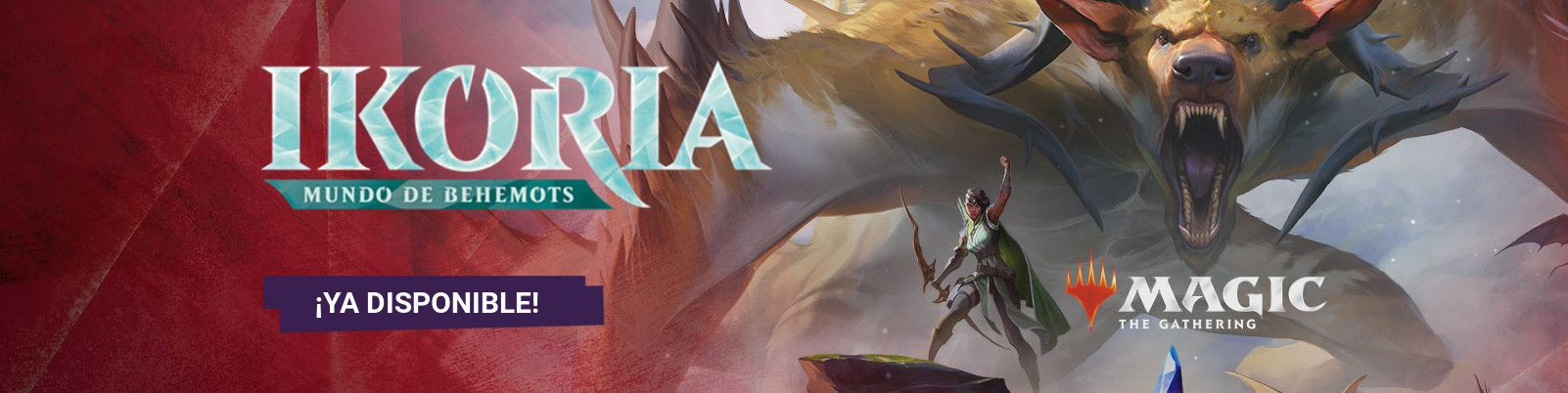 MTG Ikoria Mundo de Behemots - Banner 2
