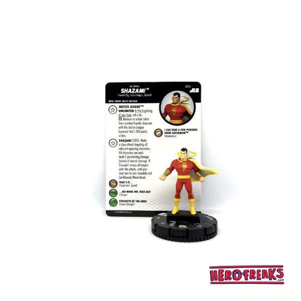 Heroclix JLU – 014 Shazam!