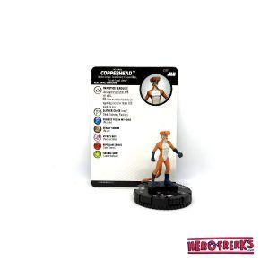 Heroclix JLU – 017 Copperhead