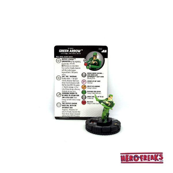 Heroclix JLU – 042 Green Arrow