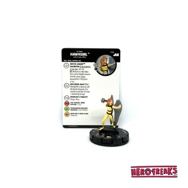Heroclix JLU – 045 Hawkgirl