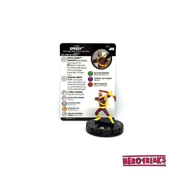 Heroclix JLU – 047 Speedy