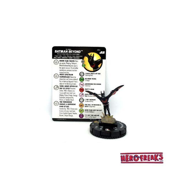Heroclix JLU – 051 Batman Beyond