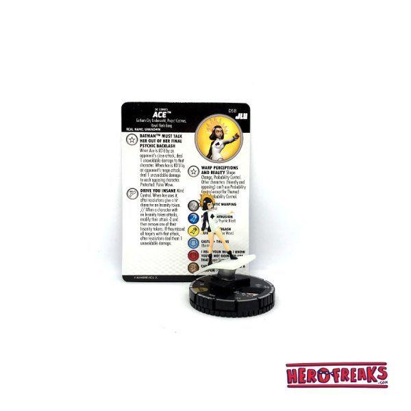 Heroclix JLU – 058 Ace