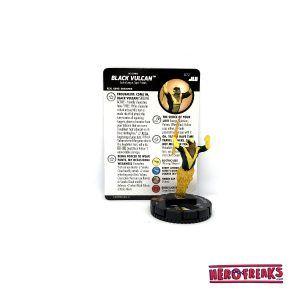 Heroclix JLU – 072 Black Vulcan