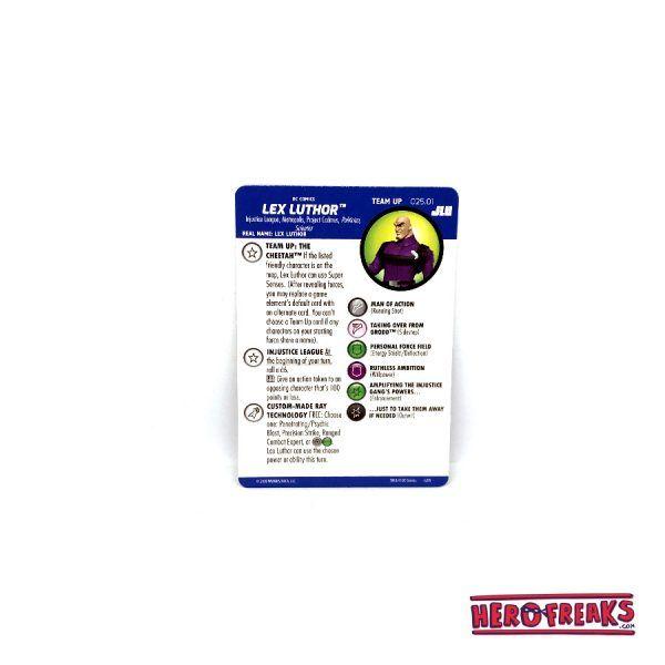 Heroclix JLU – Team Up 025.01 Lex Luthor