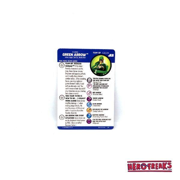 Heroclix JLU – Team Up 026.04 Green Arrow