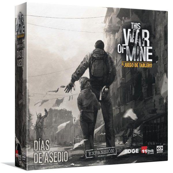 This War of Mine El Juego de Tablero Días de Asedio