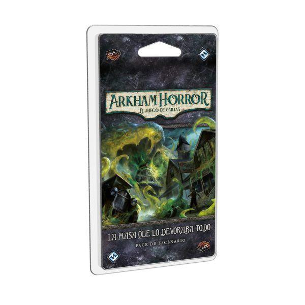 Arkham Horror El Juego de Cartas - La MAsa que lo devoraba Todo