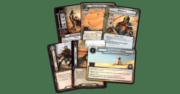 El Señor de los Anillos: El Juego de Cartas - Las Arenas 1