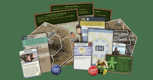 Fallout El Juego de Tablero - Nueva California2