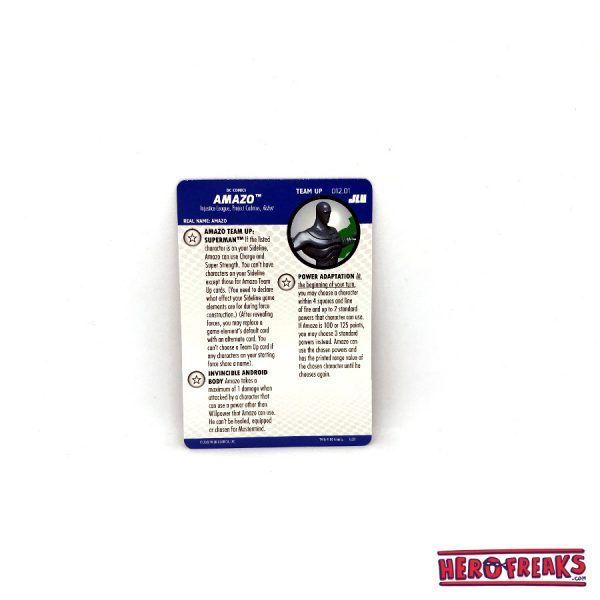 Heroclix JLU – Team Up 012.01 Amazo