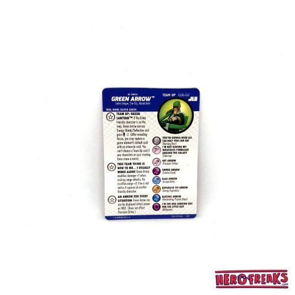 Heroclix JLU – Team Up 026.02 Green Arrow