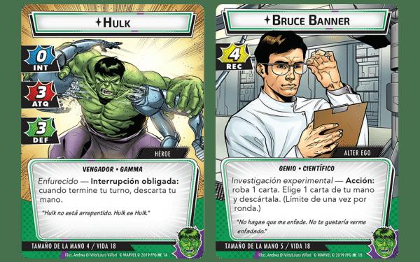 Marvel Champions El Juego de Cartas - Hulk1