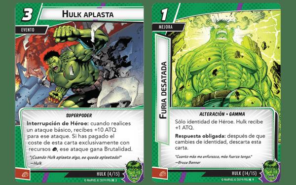 Marvel Champions El Juego de Cartas - Hulk2