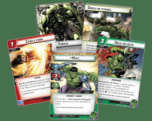Marvel Champions El Juego de Cartas - Hulk3