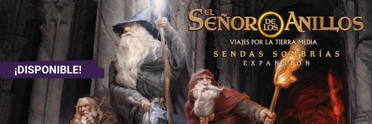 Viajes por la Tierra Media - Sendas Sombrias Banner3