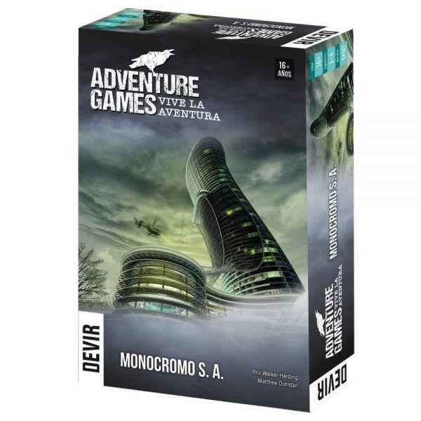 adventure games monocromo S.A