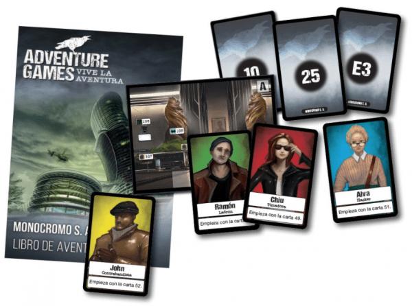 adventure games monocromo S.A1