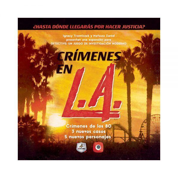 detective crimenes en LA