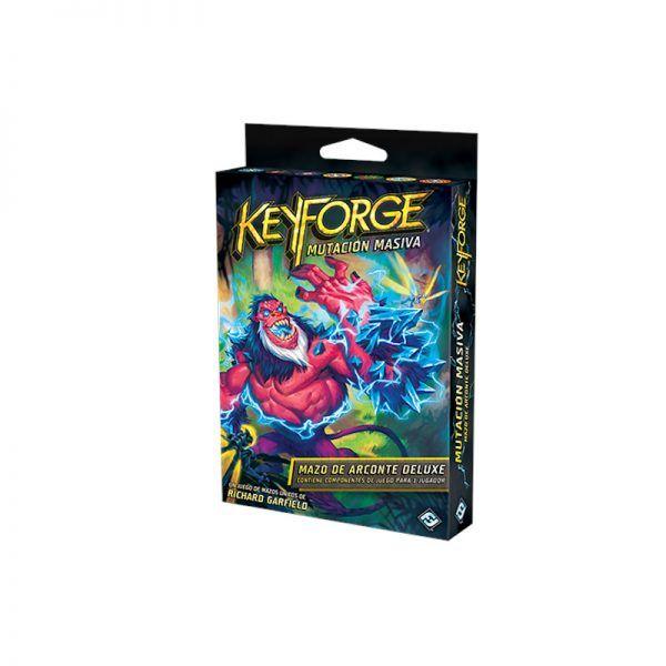 keyforge mutuacion masiva mazo arconte deluxe