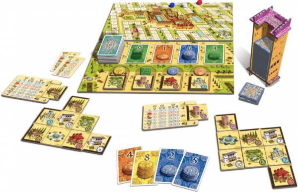 Alhambra (Edición Revisada 2020) Content