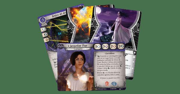 Arkham Horror El Juego de Cartas - Jaqueline Fine Mazo de Investigador 2