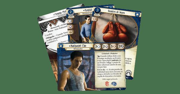 Arkham Horror El Juego de Cartas - Nathaniel Cho Mazo de Investigador 2