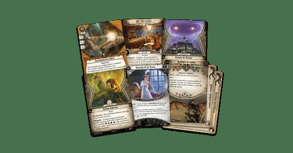 Arkham Horror El Juego de Cartas - Regreso a El Camino a Carcosa 1