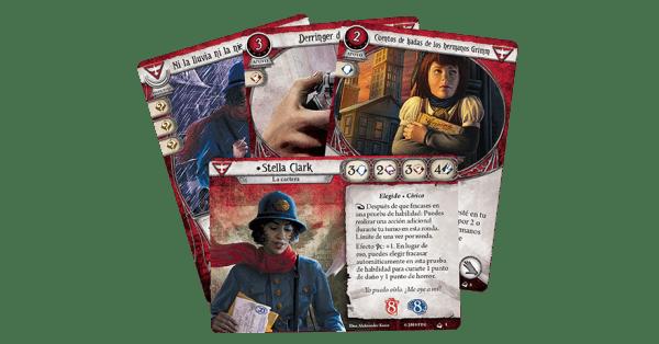 Arkham Horror El Juego de Cartas - Stella Clark Mazo de Investigador 2