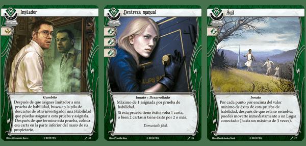 Arkham Horror El Juego de Cartas - Winifred Habbamock Mazo de Investigador 1